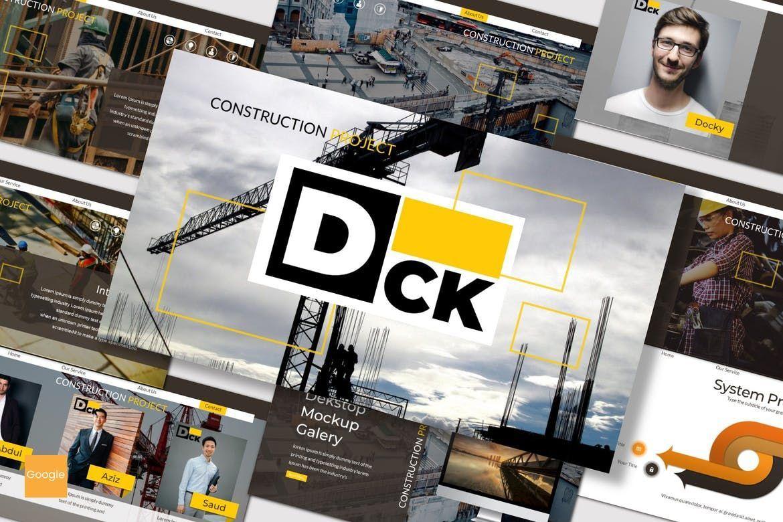 DCK - Google Slides Template, 07488, Presentation Templates — PoweredTemplate.com