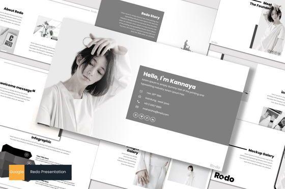 Presentation Templates: Redo - Google Slides Template #07490