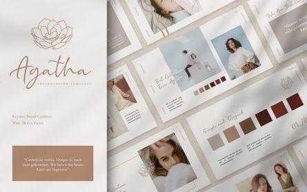 Presentation Templates: Agatha Brand Powerpoint #07491
