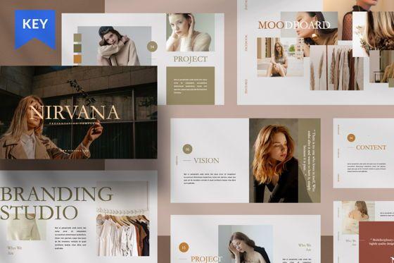 Presentation Templates: Nirvana Brand Keynote #07492