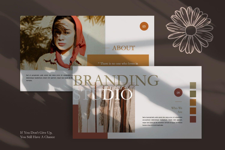 Nirvana Brand Keynote, Slide 11, 07492, Presentation Templates — PoweredTemplate.com