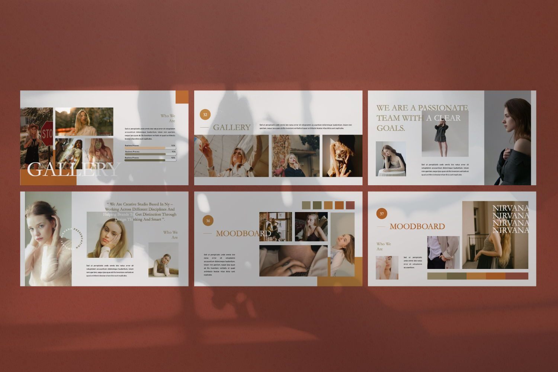 Nirvana Brand Keynote, Slide 6, 07492, Presentation Templates — PoweredTemplate.com