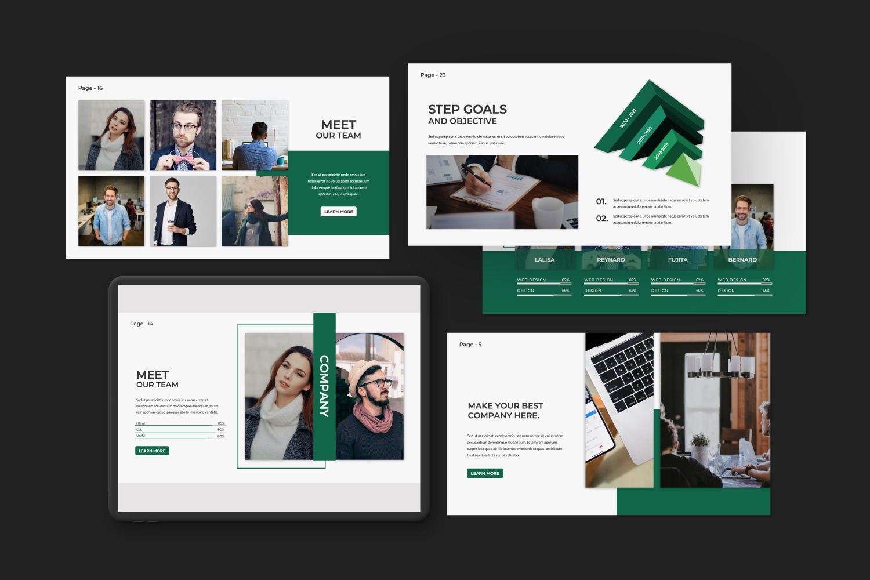 Company Business Keynote, Slide 3, 07493, Presentation Templates — PoweredTemplate.com