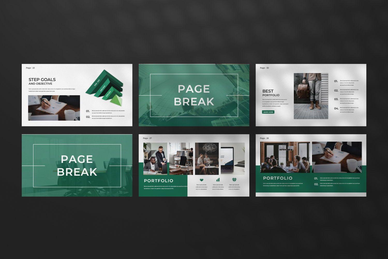 Company Business Keynote, Slide 6, 07493, Presentation Templates — PoweredTemplate.com