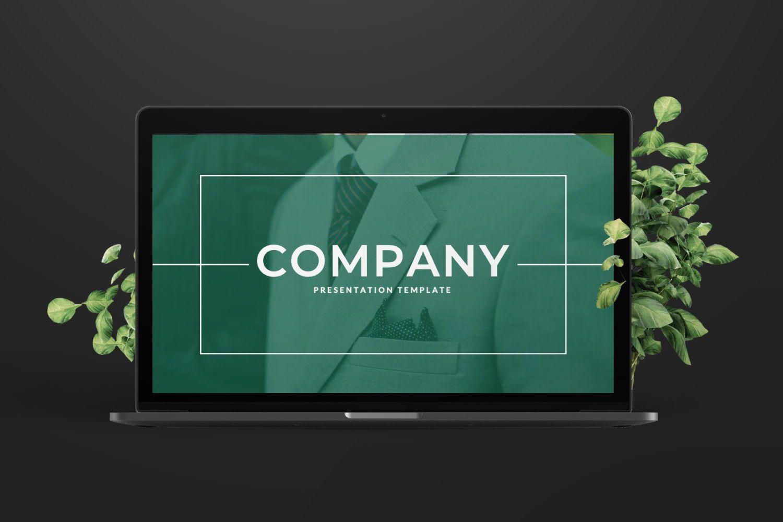 Company Business Keynote, Slide 8, 07493, Presentation Templates — PoweredTemplate.com