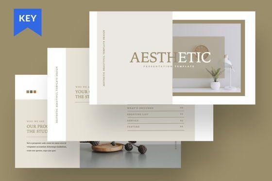 Presentation Templates: Aesthetic Brand Keynote #07497