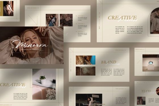 Presentation Templates: Minerva Creative Keynote #07499
