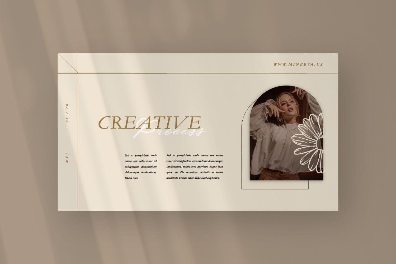 Minerva Creative Keynote, Slide 8, 07499, Presentation Templates — PoweredTemplate.com