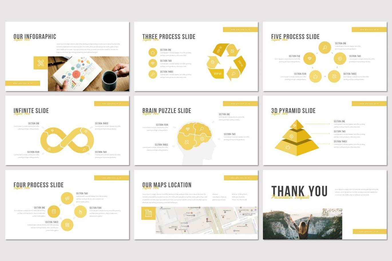 Glorious - Keynote Template, Slide 5, 07500, Presentation Templates — PoweredTemplate.com