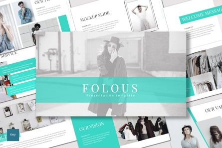 Presentation Templates: Folous - Keynote Template #07501