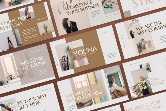 Presentation Templates: Youna Creative Powerpoint #07507
