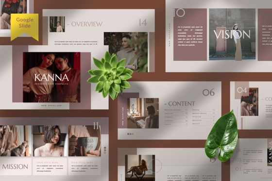 Presentation Templates: Kanna Creative Brand Google Slide #07509