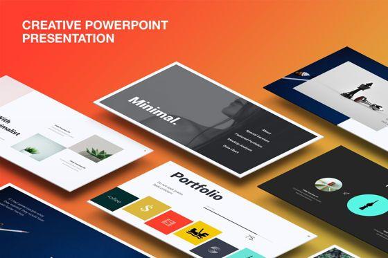Presentation Templates: Creative Minimal Presentation Template #07511