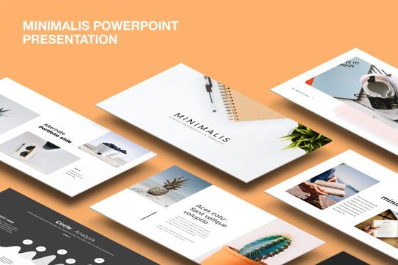 Presentation Templates: Minimalis Powerpoint Template #07514