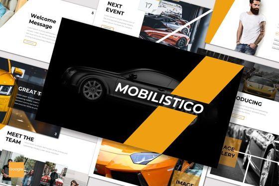 Presentation Templates: Mobilistico - Google Slides Template #07518