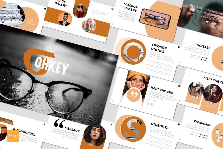 Ohkey - Google Slides Template, 07524, Presentation Templates — PoweredTemplate.com