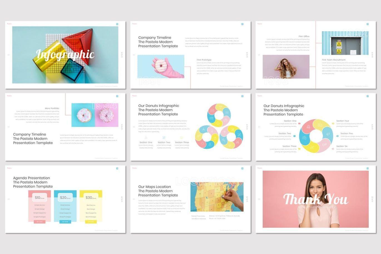 Pastela - Keynote Template, Slide 5, 07525, Presentation Templates — PoweredTemplate.com