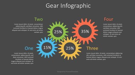 Infographics: Colorful Gear Infographic #07532