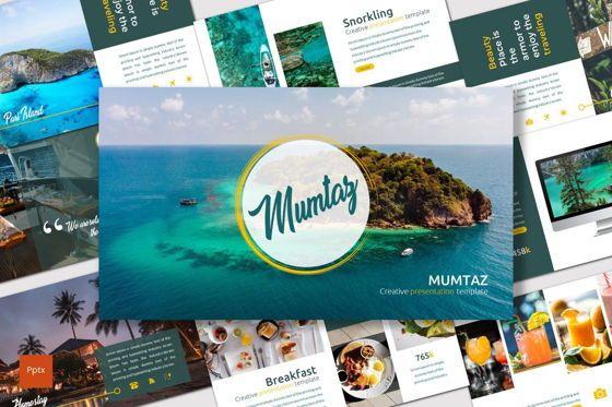 Presentation Templates: Mumtaz - PowerPoint Template #07533