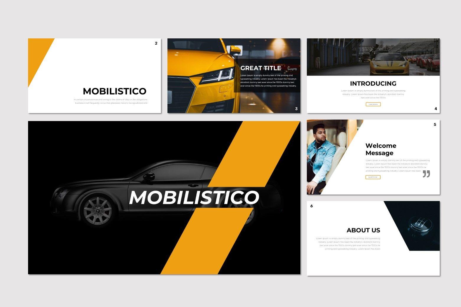 Mobilistico - Keynote Template, Slide 2, 07534, Presentation Templates — PoweredTemplate.com
