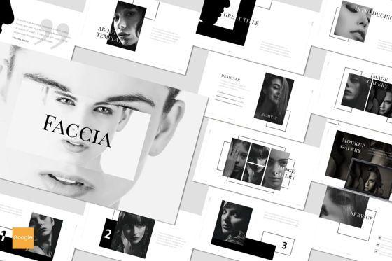 Presentation Templates: Faccia - Google Slides Template #07535
