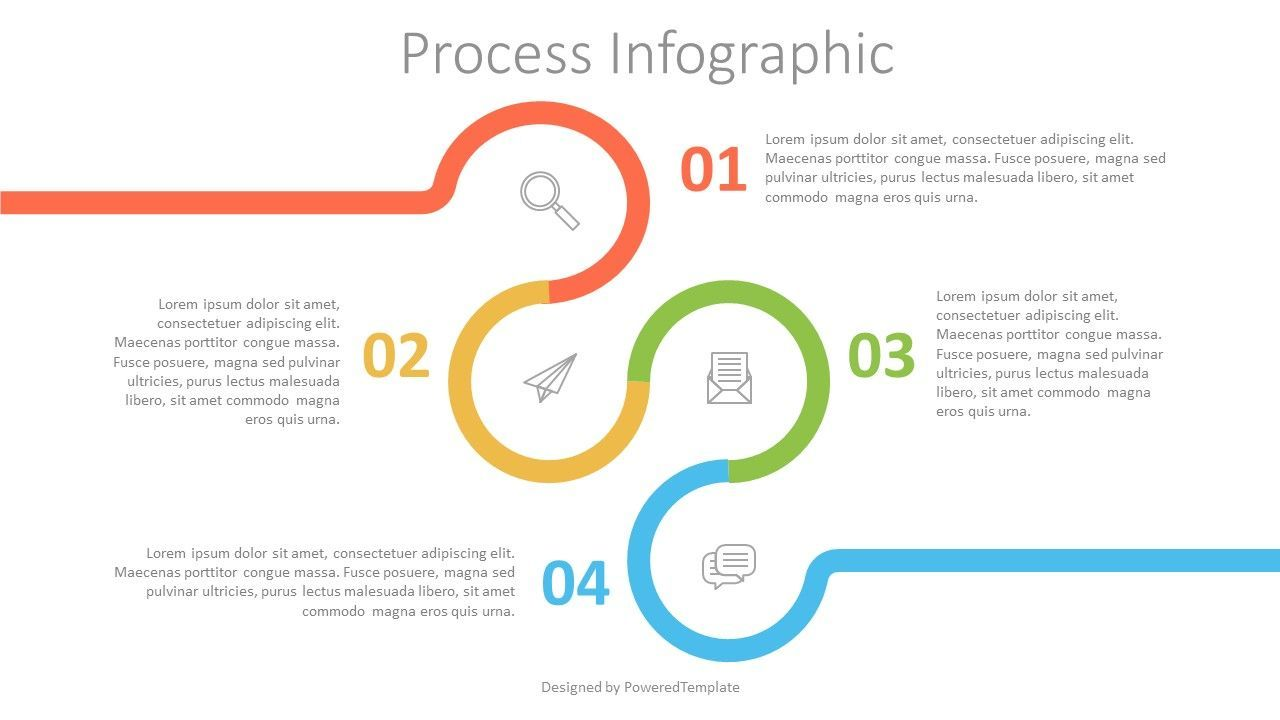 Circle with Numbered Options Infographics, 07546, Infographics — PoweredTemplate.com