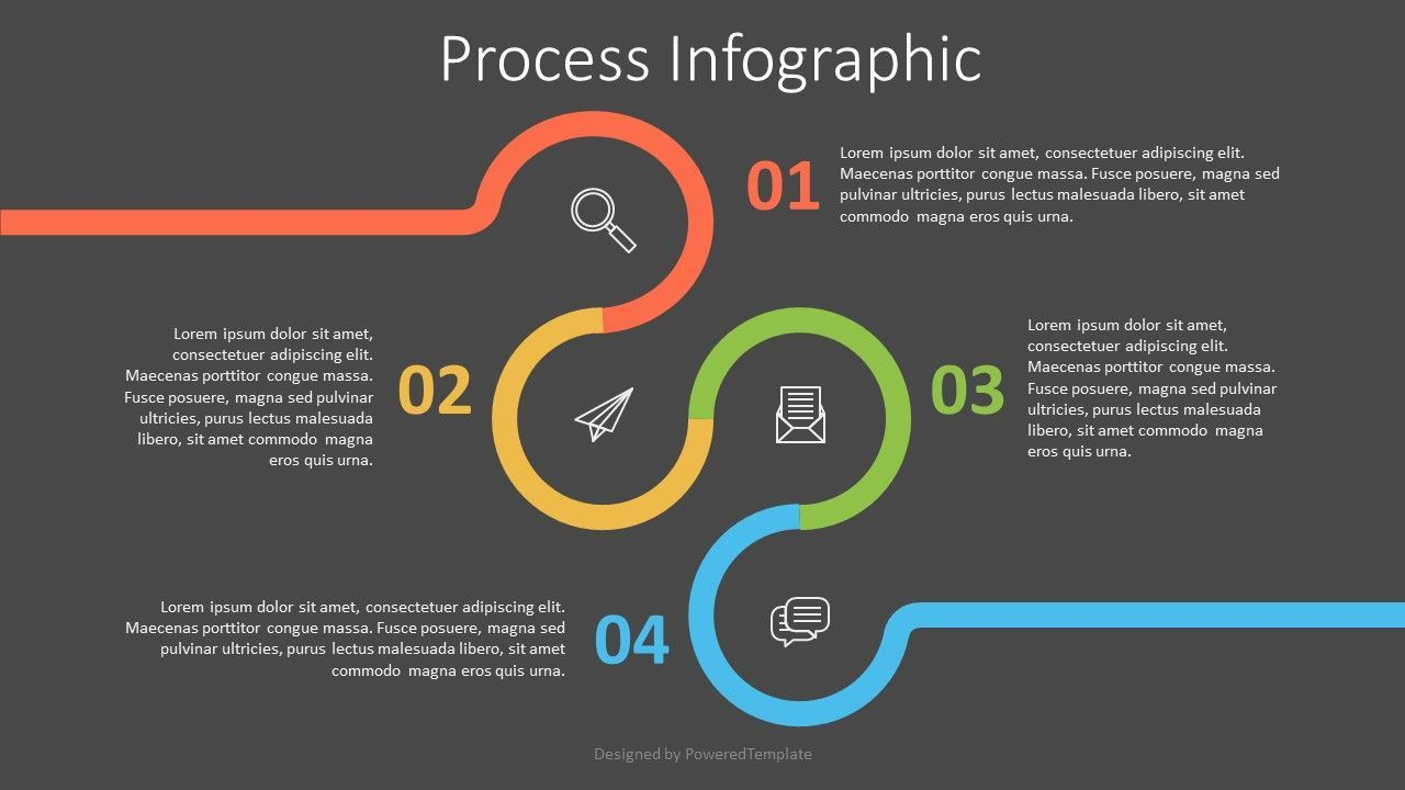 Circle with Numbered Options Infographics, Slide 2, 07546, Infographics — PoweredTemplate.com