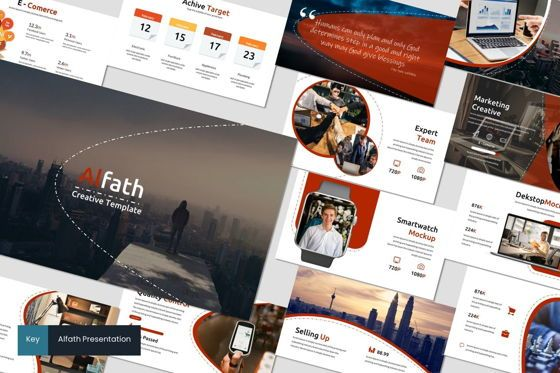 Presentation Templates: Alfath - Keynote Template #07547