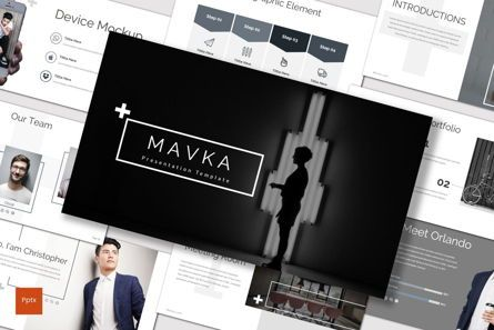 Presentation Templates: Mavka - PowerPoint Template #07550