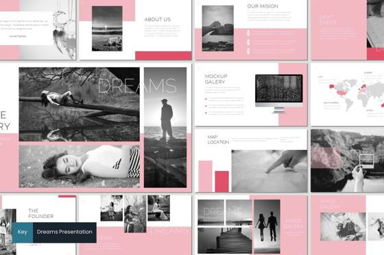 Presentation Templates: Dreams - Keynote Template #07556