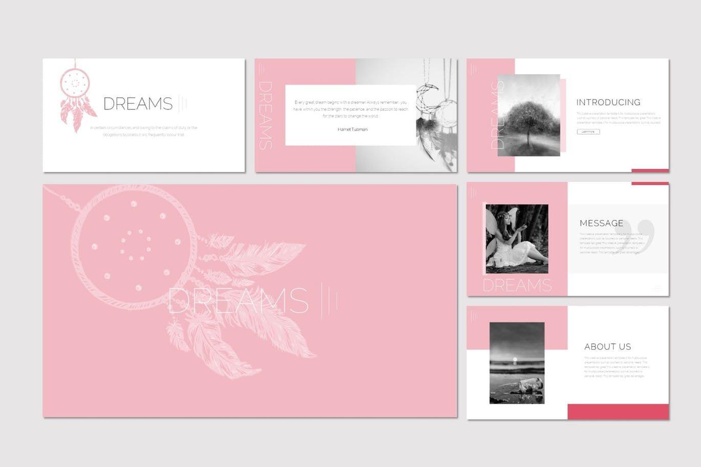Dreams - Keynote Template, Slide 2, 07556, Presentation Templates — PoweredTemplate.com