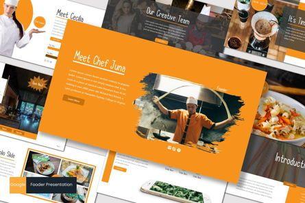 Presentation Templates: Fooder - Google Slides Template #07559