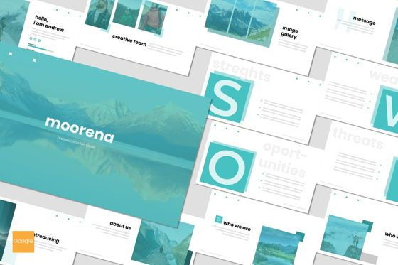 Presentation Templates: Moorena - Google Slides Template #07560