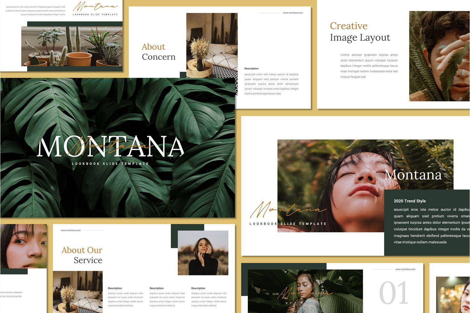 Montana - Keynote Template, 07561, Presentation Templates — PoweredTemplate.com