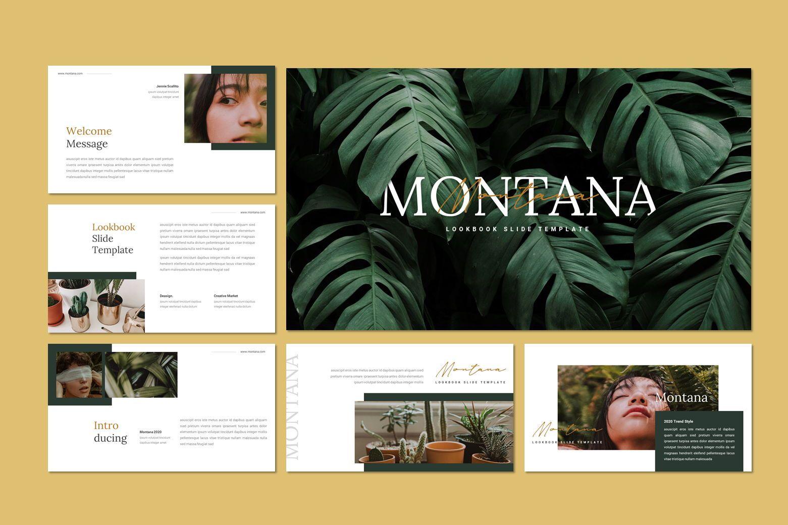 Montana - Google Slides Template, Slide 7, 07562, Presentation Templates — PoweredTemplate.com