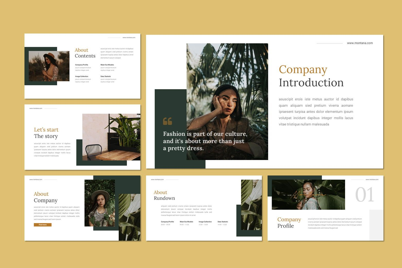 Montana - Google Slides Template, Slide 8, 07562, Presentation Templates — PoweredTemplate.com