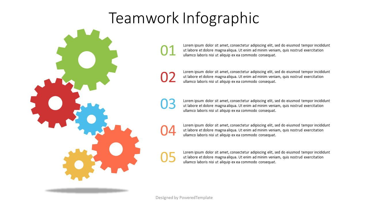 Teamwork Infographic, 07566, Infographics — PoweredTemplate.com