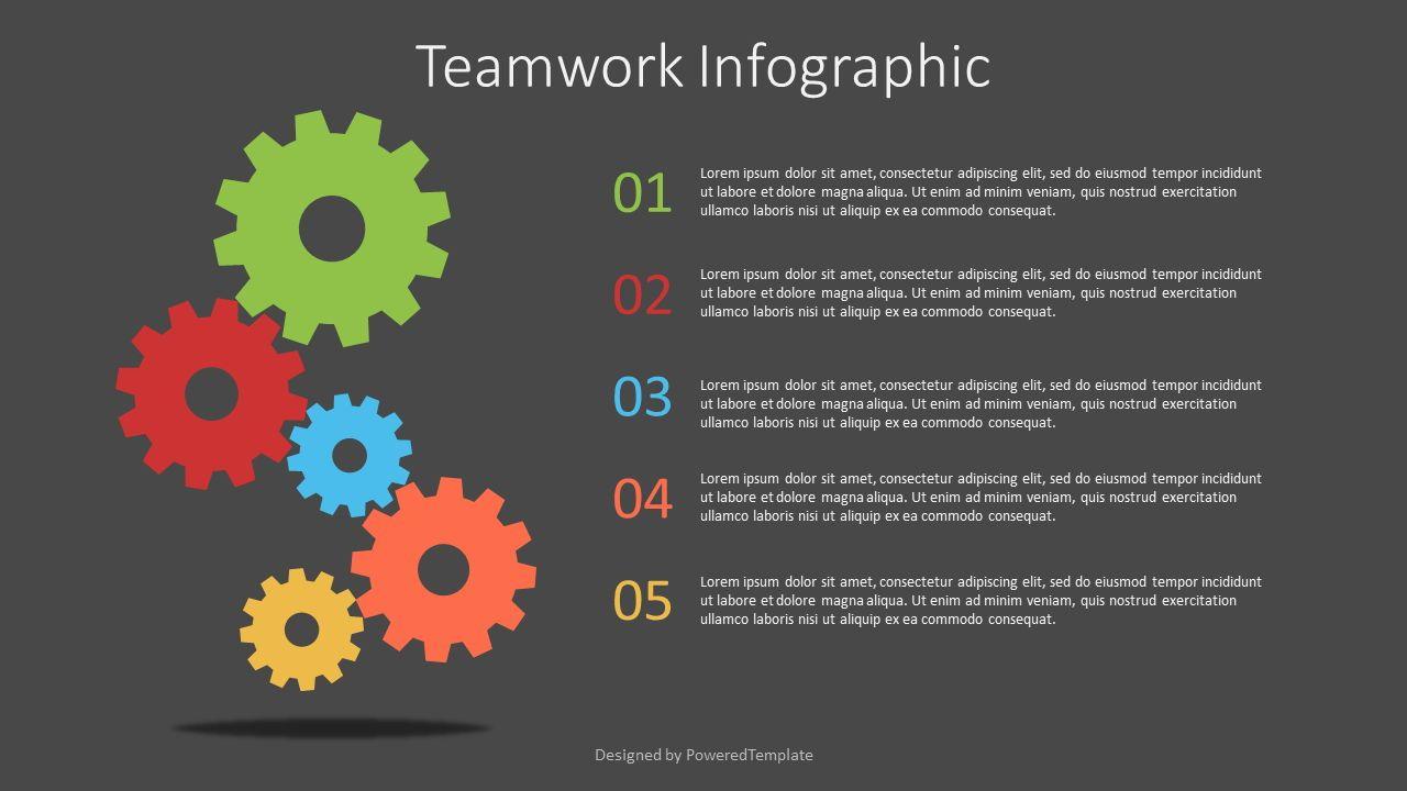 Teamwork Infographic, Slide 2, 07566, Infographics — PoweredTemplate.com