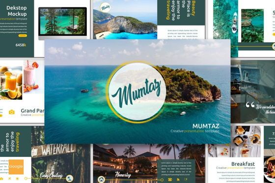 Presentation Templates: Mumtaz - Google Slides Template #07567
