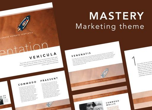 Presentation Templates: Mastery Keynote Presentation Template #07571