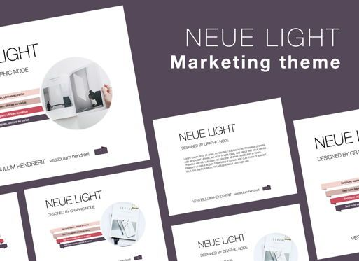 Presentation Templates: Neue Light Keynote Presentation Template #07572