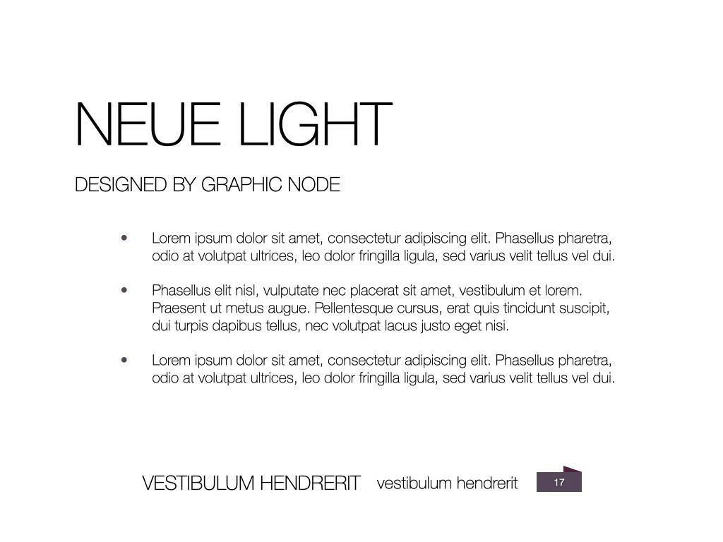 Neue Light Keynote Presentation Template, Slide 10, 07572, Presentation Templates — PoweredTemplate.com