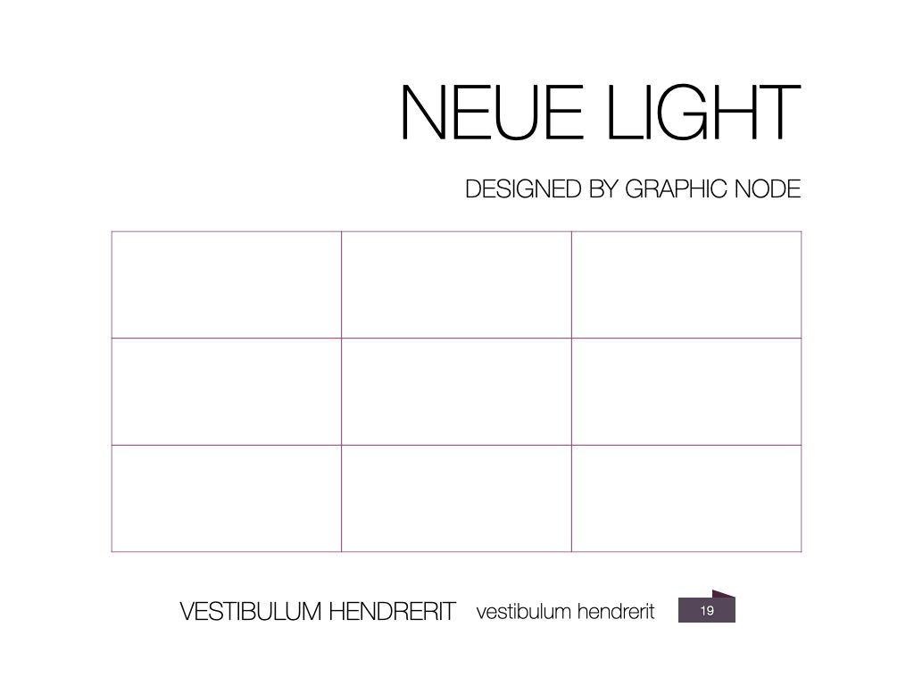 Neue Light Keynote Presentation Template, Slide 13, 07572, Presentation Templates — PoweredTemplate.com