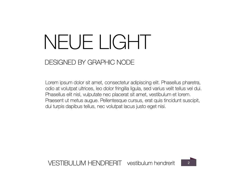 Neue Light Keynote Presentation Template, Slide 15, 07572, Presentation Templates — PoweredTemplate.com