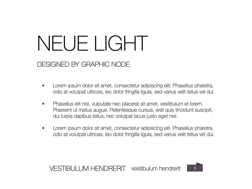 Neue Light Keynote Presentation Template, Slide 16, 07572, Presentation Templates — PoweredTemplate.com