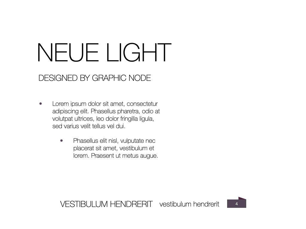 Neue Light Keynote Presentation Template, Slide 17, 07572, Presentation Templates — PoweredTemplate.com