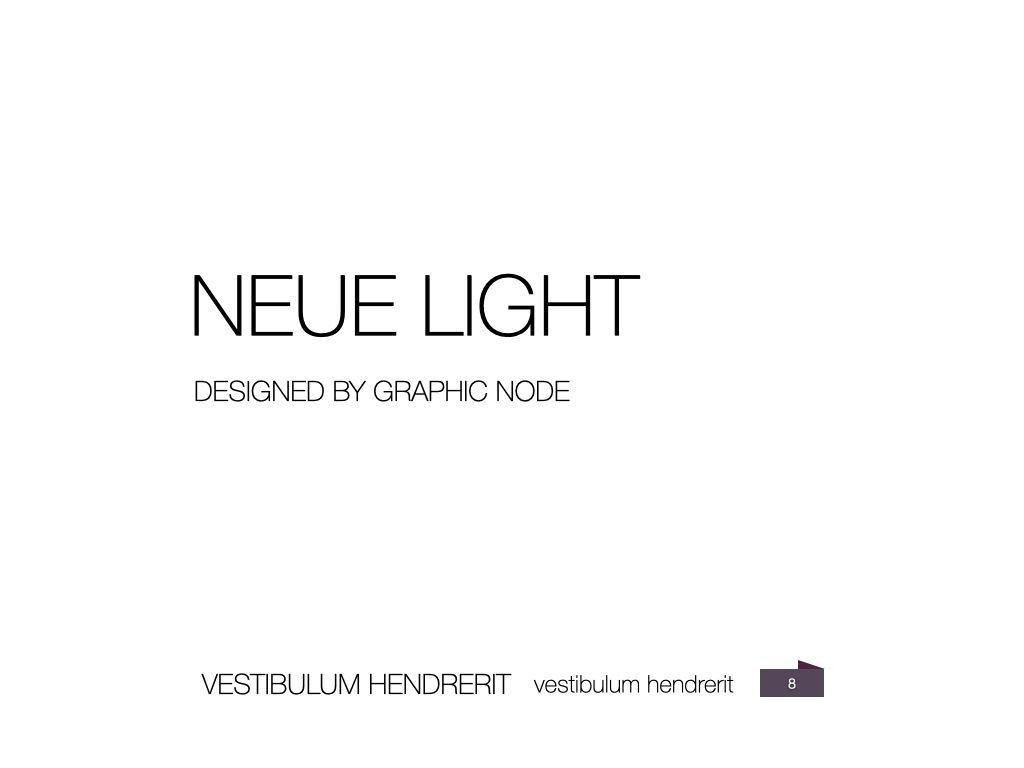 Neue Light Keynote Presentation Template, Slide 21, 07572, Presentation Templates — PoweredTemplate.com