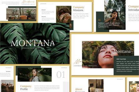Presentation Templates: Montana - Powerpoint Template #07576