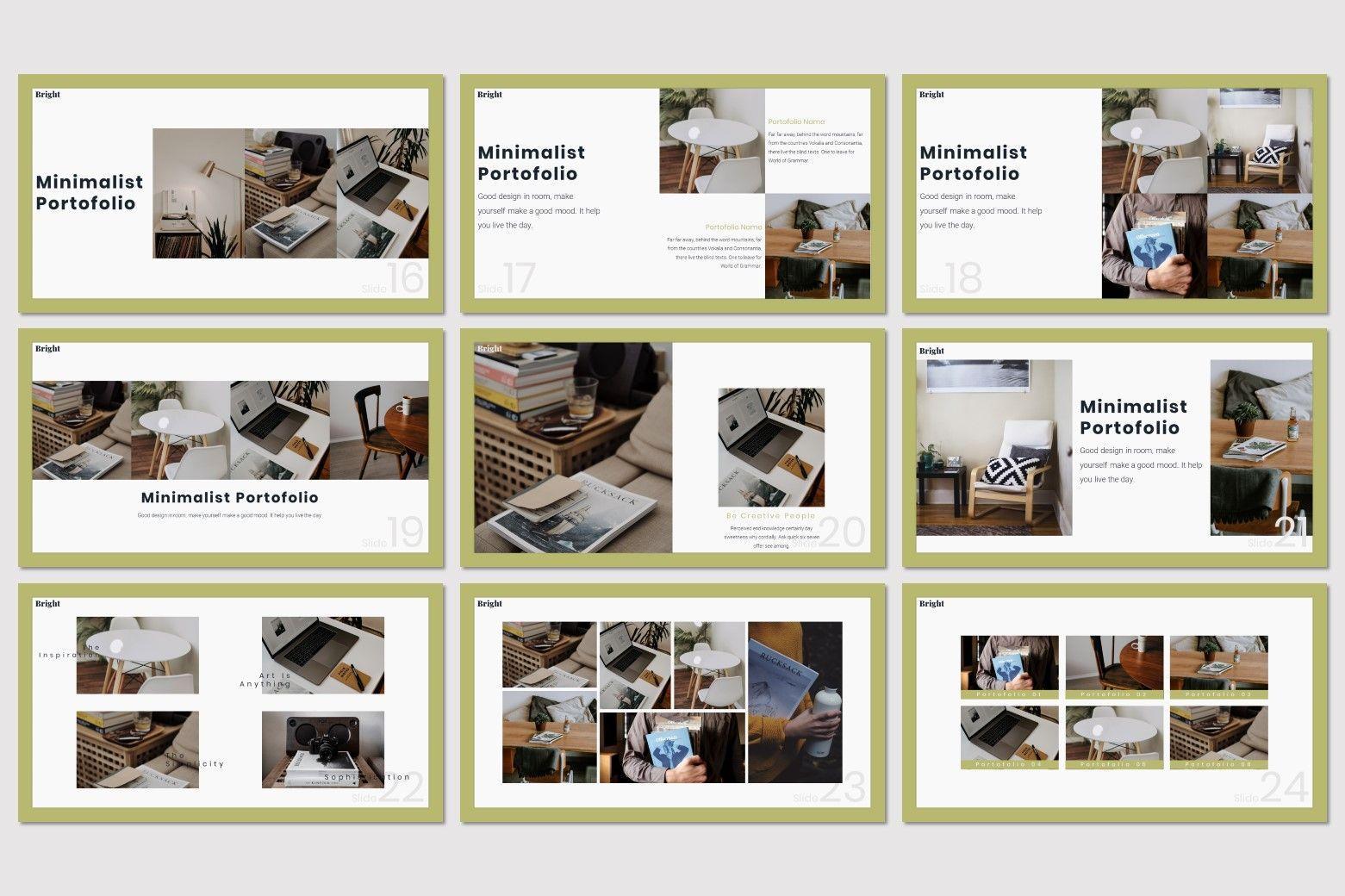 Bright - Powerpoint Template, Slide 4, 07577, Presentation Templates — PoweredTemplate.com