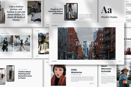 Presentation Templates: Brookly - Powerpoint Template #07578